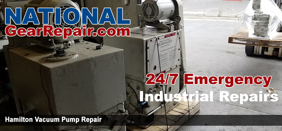 hamilton vacuum pump repair and rebuild