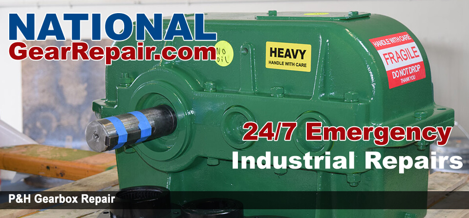 p&h gearbox repair
